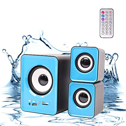 BUY-TO Computer Subwoofer Speaker Audio 2.1 Channel Multimedia Bluetooth S-202BT Bluetooth Card Desktop Laptop