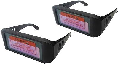 DYNWAVE 2x Máscara de Escurecimento Solar Automático Óculos de Solda Mig 2 óculos de Proteção