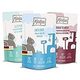MjAMjAM Mixpaket II 4*Wild&Kaninchen, 4*Pute, 4*Ente&Geflügel 12 x 125 g, 1er Pack (1 x 1.5 kilograms)