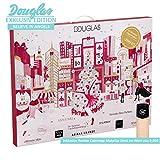 Douglas Beauty Adventskalender Believe in Angels EXKLUSIV Edition idealer Adventskalender für die Frau, Wert 200 €, 24 Beauty Produkte diverser Hersteller, Advent Kalender