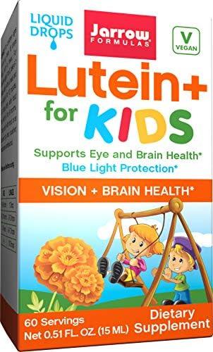 Jarrow Formulas Lutein, Supports Vision and Macular Health, 20 mg, 120 Softgels