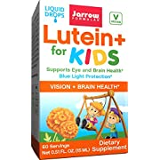 Jarrow Formulas Lutein for Kids, Supports Eye and Braing Health*.51 Oz, 60 Servings