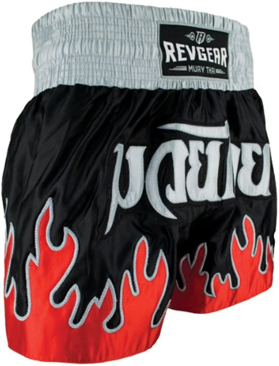 Revgear Deluxe Flames Muay Thai Shorts
