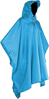 Anyoo Waterproof Rain Poncho Lightweight Reusable Hiking...