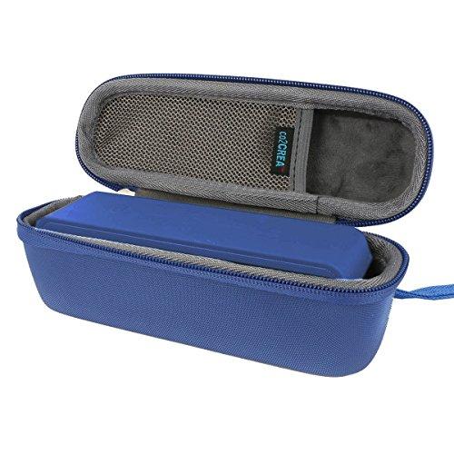 co2CREA für Anker So&Core 1/2 Drahtloser Bluetooth Handy-Lautsprecher weich Reise Tragen Lagerung Fall Taschen Hülle passen Ladegerät Kabel Adapter