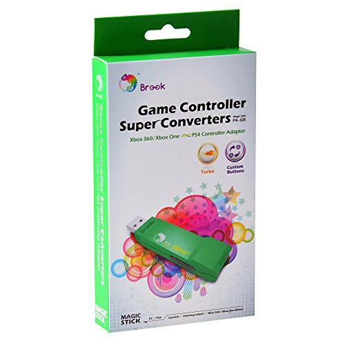 Gam3Gear Brook ZPPN002 Xbox ONE to PS4 Super Converter Controller Gaming Adapter with FREE Keychain