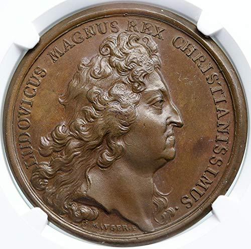 1694 FR 1694 FRANCE Ships Taken from HOLLAND 9Yr War NAVA coin MS 64 BN NGC