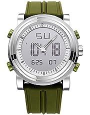 「ビンズ」BINZI スポーツ腕時計 ファッション アウトドア デジタル 多機能 防水 LED クロノグラフ 日付曜日表示 BZ-9368