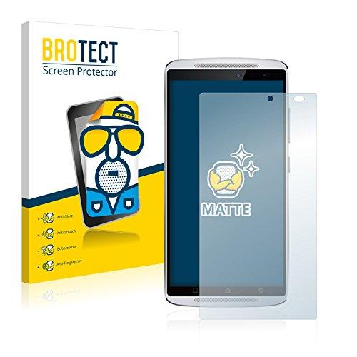 BROTECT 2X Entspiegelungs-Schutzfolie kompatibel mit Lenovo Vibe X3 (nur Kamera rechts) Bildschirmschutz-Folie Matt, Anti-Reflex, Anti-Fingerprint