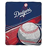 MLB Los Angeles Dodgers 'Big Stick' Sherpa Throw Blanket, 50' x 60'