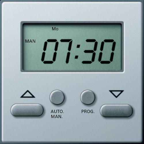 Gira 1175203 Zeitschaltuhr Easy Gira E22 Aluminium