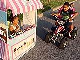 Clip: Drive Thru Ice Cream Stand Kids Pretend Play