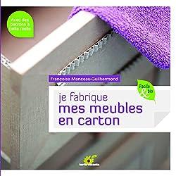 livre Je fabrique mes meubles en carton