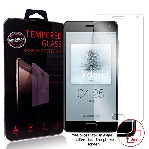 Ycloud Panzerglas Folie Schutzfolie Bildschirmschutzfolie für ZUK Z2 Pro (5.2 Zoll) screen protector mit Festigkeitgrad 9H, 0,26mm Ultra-Dünn, Abger&ete Kanten