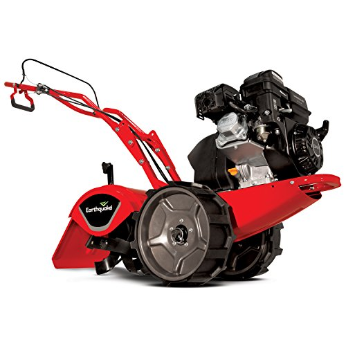Great Deal! EARTHQUAKE 29409 Victory Rototiller Tiller CRT with Reverse - 4-Cycle Viper Engine, 5 Ye...