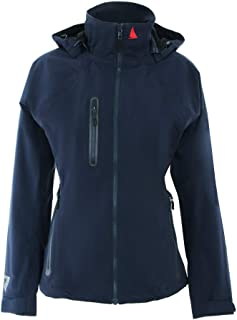 Womens Sardinia BR1 Yacht Sailing and Boating Coat Jacket Coat True Navy - Lightweight. Breathable
