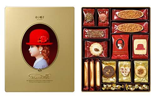 赤い帽子 ゴールド 594g