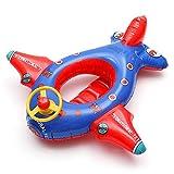Juguete inflable de aeroplano para niños