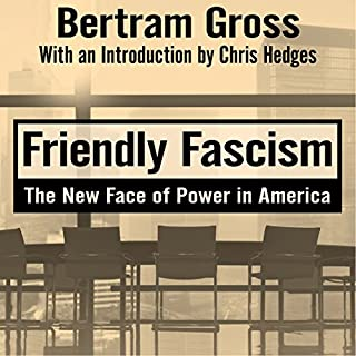 Friendly Fascism audiobook cover art
