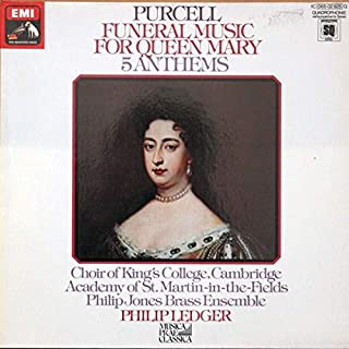 Henry Purcell / The King's College Choir Of Cambridge , The Academy Of St. Martin-in-the-Fields , Philip Jones Brass Ensemble , Philip Ledger - Funeral Music For Queen Mary - 5 Anthems - EMI - 1 c 065 - 02 825 Q, Die Stimme Seines Herrn - 1 c 065 - 02 825