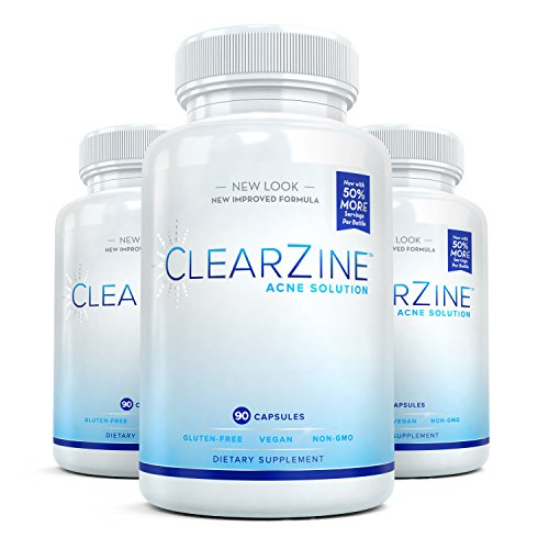 ClearZine Acne Solution - The Best Natural Acne Pills for Rapid Acne...