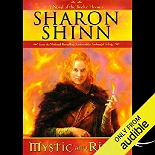 Mystic and Rider audiobook cover art