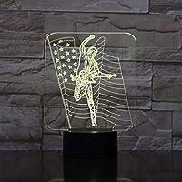 3Dランプの色が変わる夜の光の子供たちは岩のリモートタッチ溶岩ランプを提示します