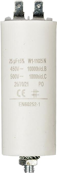 Fixapart W1 11025n Zylindrischer Kondensator Weiß Elektronik