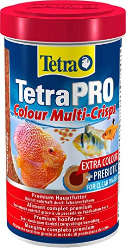 Tetra Pro Color premium food (flake food for all tropical ornamental fish, fish food with color concentrate for beautiful, colorful fish), 500 ml