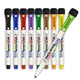 Best Whiteboard Erasers - Mag-Fancy Magnetic Dry Erase Markers, Fine Point, Whiteboard Review