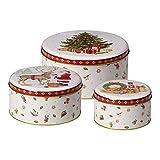 Villeroy & Boch Winter Bakery Scatola Dolci, Metallo, Multicolore, Set
