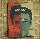 XIYAOER Mehrfarbige Leinwandplakate Fight Club Film Brad