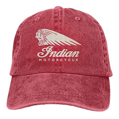 Ingpopol Indian Motorcycle Baseball Cap Vintage Dad Hat Adjustable Polo Trucker Unisex Style Headwear