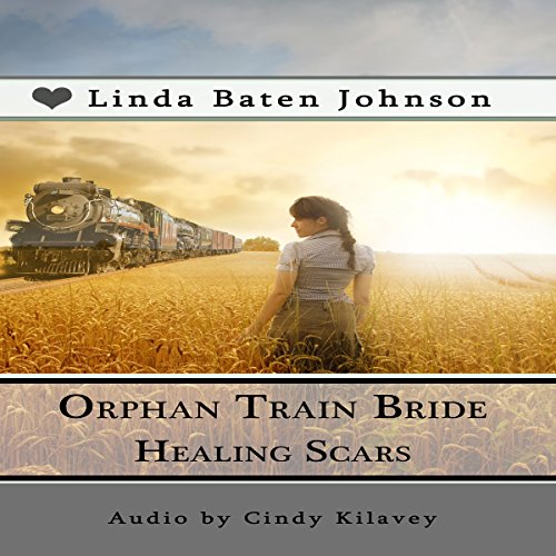 Orphan Train Bride Healing Scars audiobook cover art