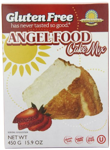 Kinnikinnick Gluten Free Angel Food Cake Mix, 15.9 Ounce (Pack of 3)