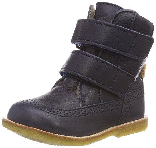 Bisgaard Unisex dziecięce buty zimowe 60527218, niebieski - niebieski 608 Navy - 30 EU