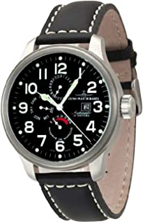 Zeno - Watch Reloj Mujer - OS Pilot Power Reserve, Dual-Time, Day Date - 8055-a1