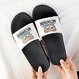 WENHUA Sandalias de Punta Descubierta, Niño Niña Playa Zapatillas Sandalias, Zapatillas Mujer Verano 2021 Nuevo, Blanco_40-41