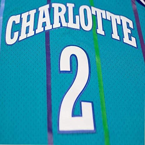 Mitchell & Ness Larry Johnson 1992-93 Charlotte Hornets Teal Swingman Jersey