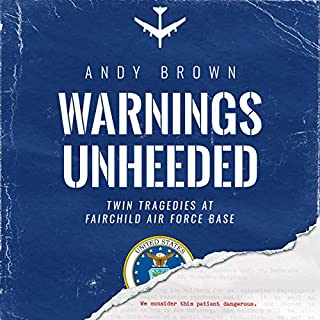 Warnings Unheeded audiobook cover art