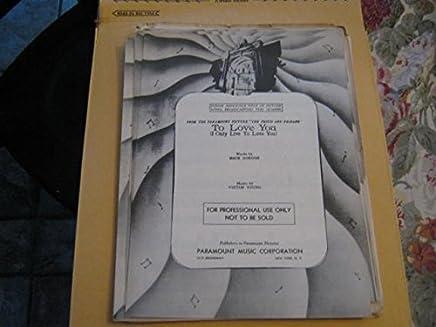 Amazon com: Mack Gordon - Songbooks / Music: Books