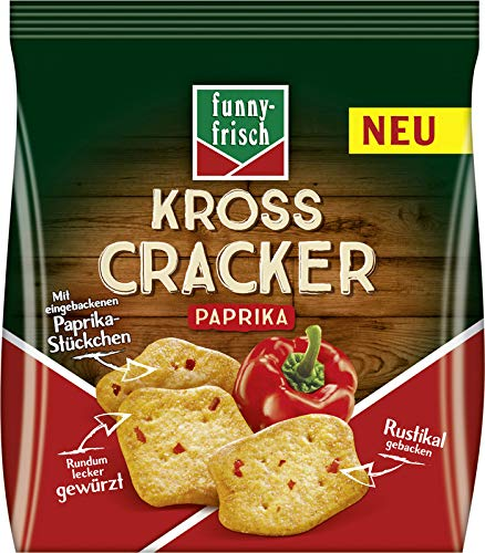 funny-frisch Kross Cracke, Paprika 100 g