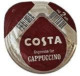 48 x Tassimo Costa Espresso for Cappuccino T- Discs, SOLD LOOSE