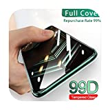 Tempered Glass for Apple iPhone 11 Pro 7 8 Plus XS Max XR Screen Protector Protector de pantalla para iPhone X 6 6S Plus SE 2020 Protector de pantalla para iPhone X Oro XS-Black