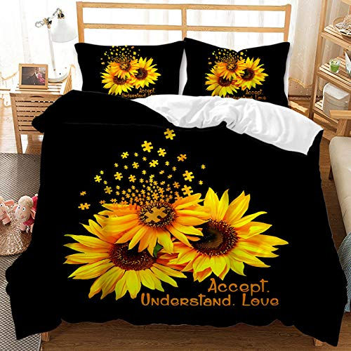 Comfortable And Warm Duvet Cover 200X230cm, Polyester Super Large Duvet Cover Set With 2 Pillowcases, Suitable For Bedding For Boys And Girls