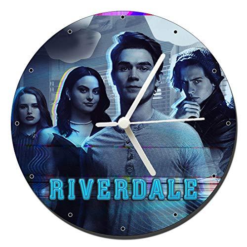 MasTazas Riverdale Lili Reinhart Cole Sprouse Camila Mendes B Wanduhren Wall Clock 20cm
