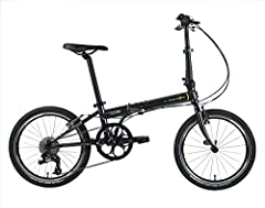 UNIQUE BUILD: Dahon has mastered the art of the foldable bicycle and the Speed D8 is one of their most versatile and most popular bikes yet. The Speed D8 Folding Bike's frame is built from a Lightweight 4130 Cro Mo and a Lattice Forged Hinge with Vis...