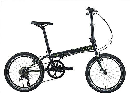 Dahon Speed D8 Folding Bike 20-inch Wheels (Charcoal Black)