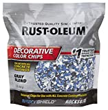 Rust-Oleum 301359 Decorative Color Chips, Gray Blend, 1lb
