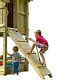 Demmelhuber Blue Rabbit 2.0 Anbaumodul Rampe mit Seil @RAMP Spielturm Erweiterung Kletterwand...